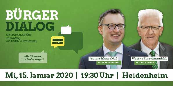 Einladung zum Bürgerdialog Heidenheim