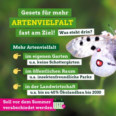 Biodiversitätsgesetzt Illustration