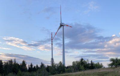 Windenergie auf der Hronisgrinde