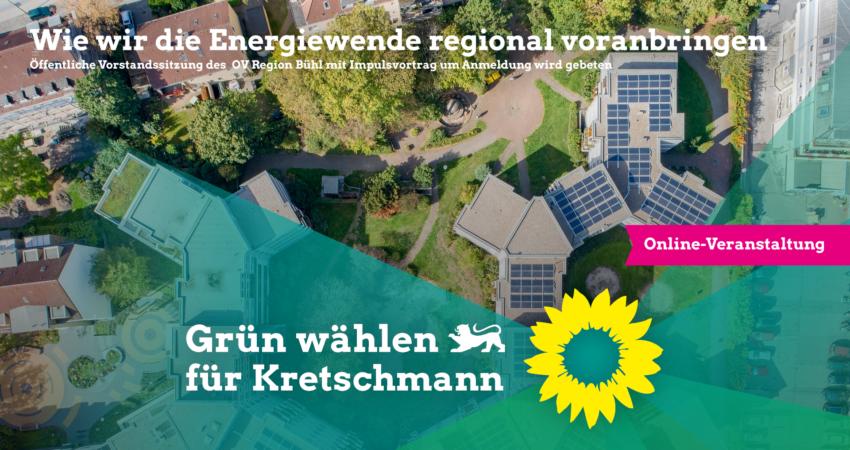 Veranstaltungshinweis öffentliche Vorstandssitzung OV Region Bühl