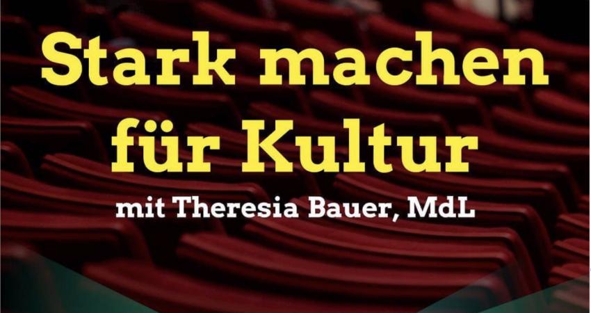 Veranstaltungshinweis mit der Kultur- und Wissenschaftsministerin Theresia Bauer